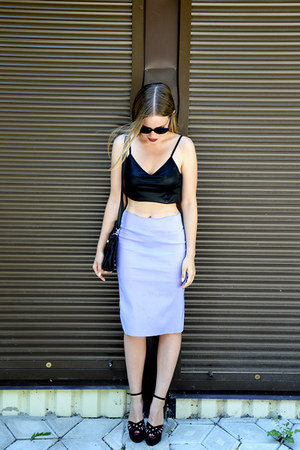 Jurgen Michaelsen top - Exbibit skirt - Iride heels