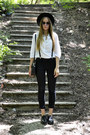 Incity blouse - Tredair shoes - Miss Sixty pants