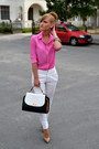 H-m-shirt-orsay-bag-zara-pants-poema-heels
