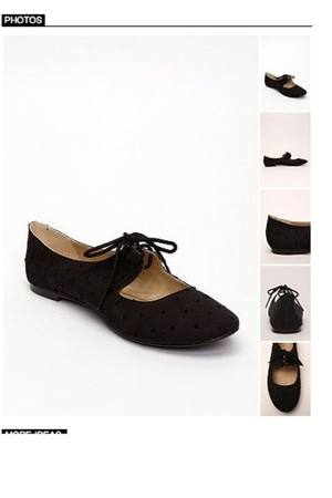 black Urban Outfitters shoes