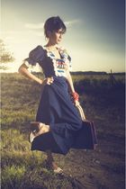 Forever 21 accessories - Buffalo Exchange dress - handmade from Yogyakarta Indon