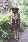 Jeffrey-campbell-shoes-gold-sequin-vintage-dress-poppy-catarzi-hat