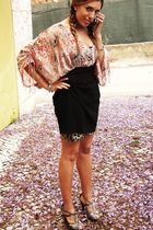 Zara blouse - Zara skirt - Sfera shoes
