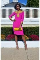 RumahKaftanCitra dress - new look bag