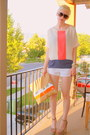 Beige-steve-madden-shoes-tan-diy-american-apparel-bag-white-jcrew-shorts