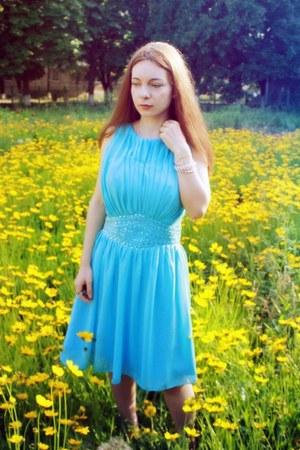 sky blue Edressy dress
