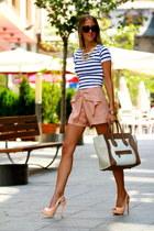 Coosy shorts - Uterqe accessories - Zara t-shirt