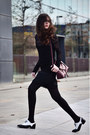 Uterque-shoes-zara-dress-zara-sweater-furla-bag