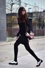Uterque-shoes-zara-dress-zara-sweater-furla-bag