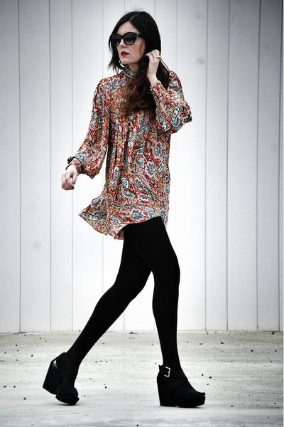 Mango shoes - Zlz dress - suede suiteblanco jacket