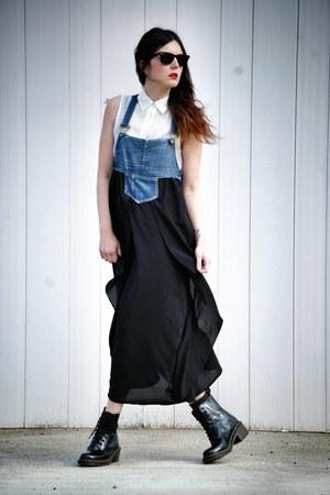 Dr Martens boots - Cozbest dress