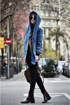 Zara boots - Zara jeans - sammydress jacket - Miu Miu sunglasses