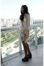 Beige-zara-dress-black-jeffrey-campbell-shoes