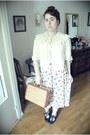 Charity-shop-shoes-charity-shop-bag-charity-shop-skirt-vintage-ebay-blouse