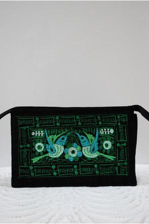 black vintage accessories