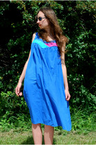Blue-vintaholic-dress