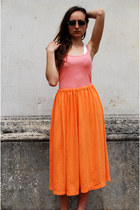 Light-orange-vintaholic-skirt