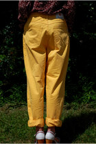 Light Yellow Vintaholic Jeans