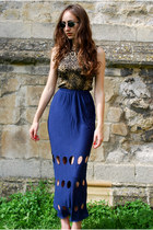 navy Oogna East skirt