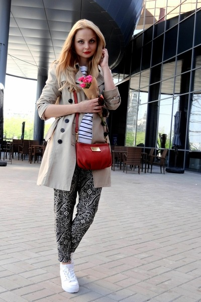 Mango coat - asos sweater - Marc by Marc Jacobs bag - new look pants