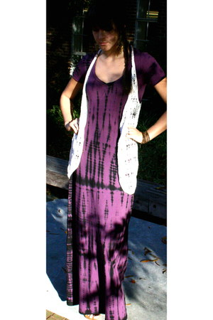 deep purple Splendid dress - ONeill vest
