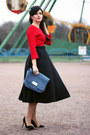 Zara-shoes-zara-hat-miu-miu-skirt