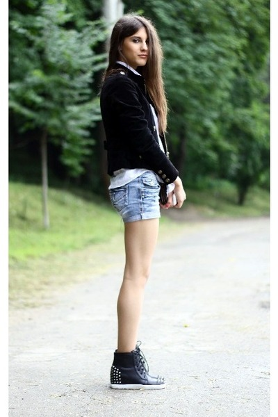 Forever21 jacket - Gap shirt - Local store shorts - Boohoo sneakers