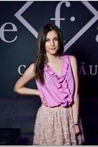 Loft shirt - Zara skirt