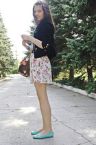 Danity skirt - Forever21 jacket - H&M top - La Redoute flats