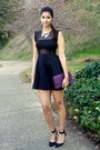 Tobi-dress-mimi-boutique-bag-forever-21-necklace-zara-heels