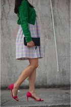 Polo Garage dress - Koton jacket - Bershka bag - Zara heels