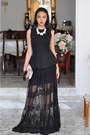 Black-peplum-new-look-top-black-crochet-stradivarius-skirt