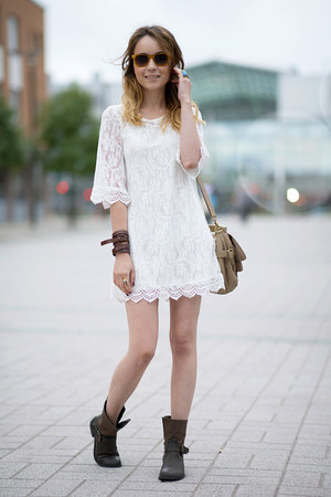 lace dress H&M dress