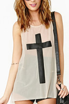 *free ship* Women sleeveless cross mesh tank top sheer sleeveless bloose