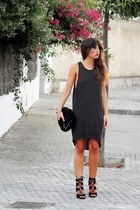 Zara bag - HyM dress - Zara heels
