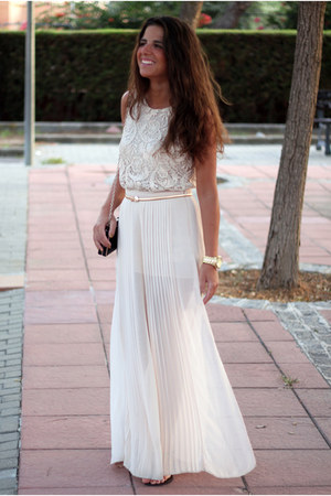 Zara skirt - Massimo Dutti top - Zara belt