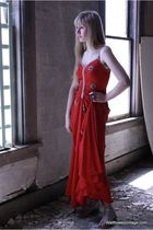 red Vintage from Wallflower Vintage dress