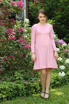 pink vintage wool Wallflower Vintage dress