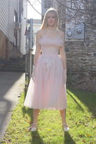 pink Vintage from Wallflower Vintage dress