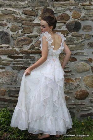 white Wallflower Vintage dress