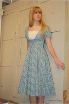 blue Vintage from Wallflower Vintage dress