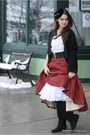 Black-wallflower-vintage-cardigan-brick-red-wallflower-vintage-skirt-white-w