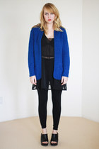 Blue-slouchy-knit-vintage-sweater