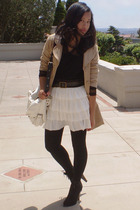 Nordstrom Rack coat - cutesygirl skirt - Urbanogcom shoes