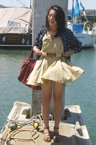 Iceberg dress - thrifted blouse - thrifted shoes - modcloth purse
