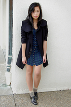 vintage dress - eShakti coat