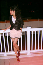 Urban Outfitters blazer - vintage skirt - Nine West shoes