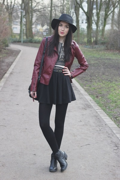 casual Primark jacket - casual Sheinside dress