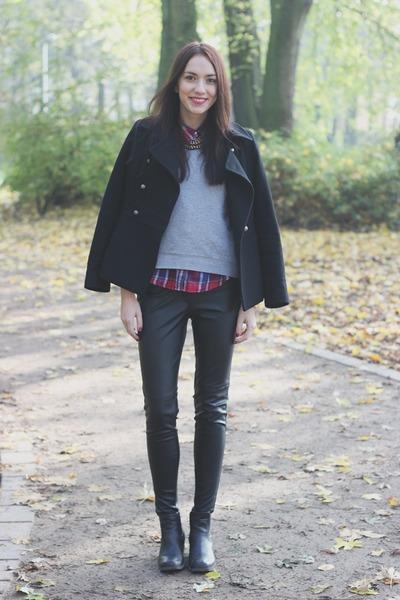 casual chic H&M coat