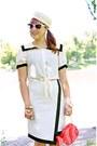Ivory-sailor-forever-21-blouse-ivory-sailor-vintage-hat-salmon-fish-aldo-bag